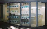 "strategic1.jpg - ""Genetic Flowers"" 74 Transparent C - Prints 29 x 21 cm, ""Strategic Replacement"" - Soho Festival Ottakring, Vienna  2003 Foto : Claudia Maria Luenig - copyright"