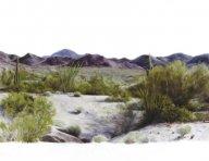 tucson.jpg - 135 x 160 cm  oil tempera on canvas  2006                     foto: Barbara Wolters - copyright
